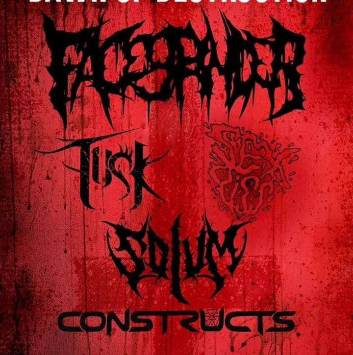 Facegrinder Tour Dates
