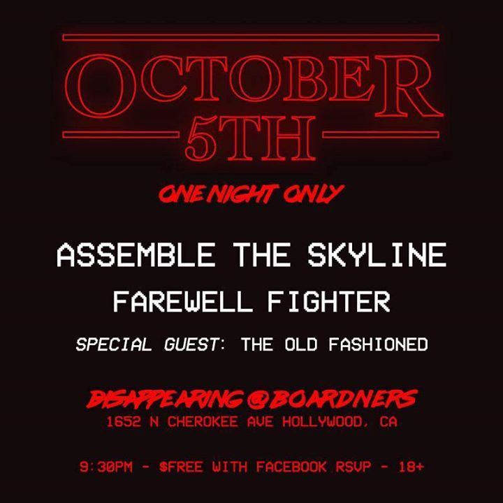 Assemble the Skyline Tour Dates