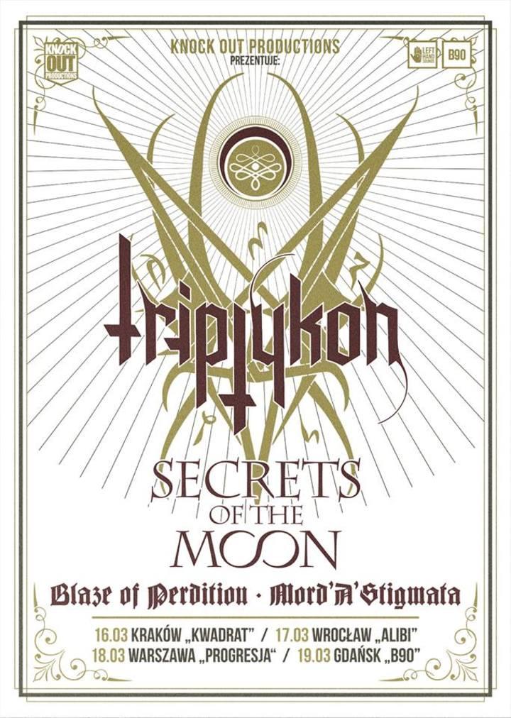 Triptykon (Official) @ Progresja - Warsaw, Poland