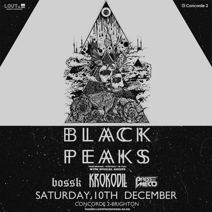 Black Peaks @ Concorde 2  - Brighton, United Kingdom