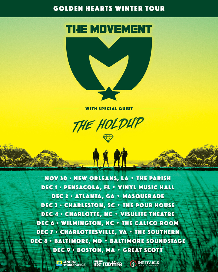 The Movement @ Vinyl Music Hall - Pensacola, FL