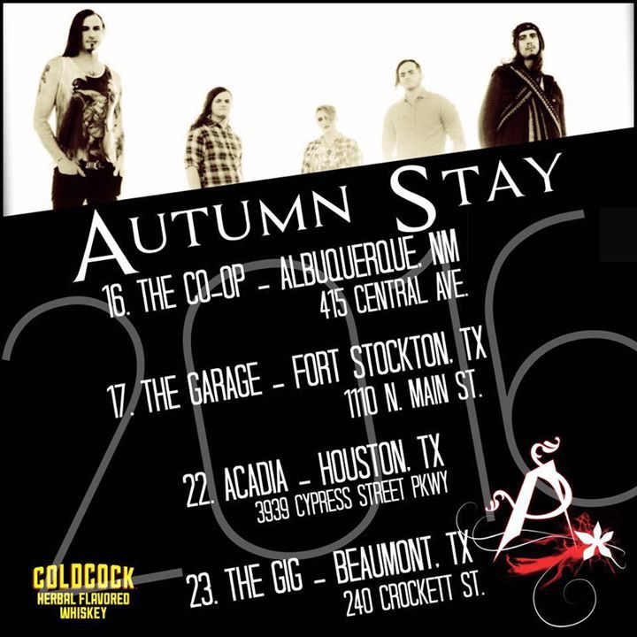 Autumn Stay Tour Dates