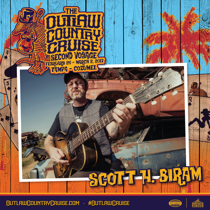 Scott H. Biram @ Outlaw Country Cruse - Tampa, FL