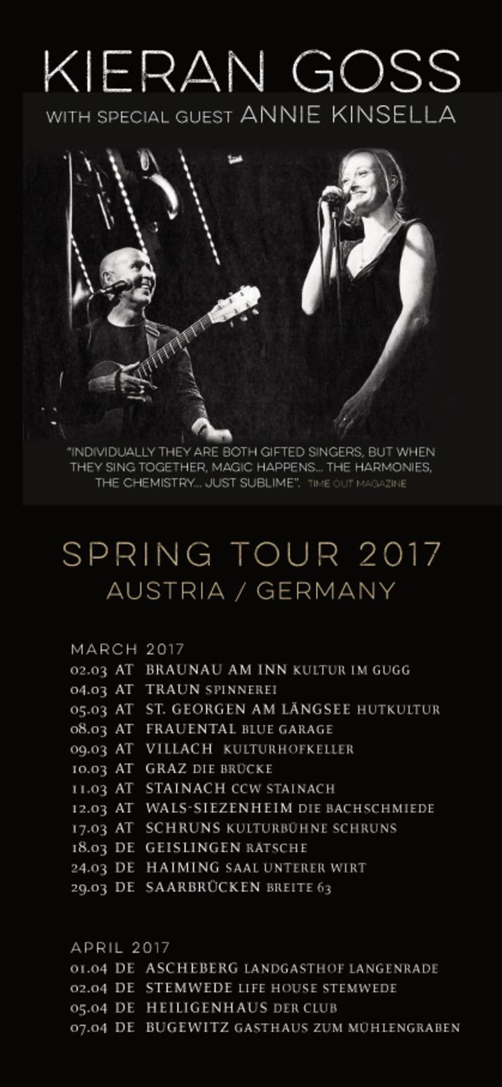 Kieran Goss @ AUSTRIA | BRAUNAU AM INN | Kultur im Gugg - Braunau Am Inn, Austria