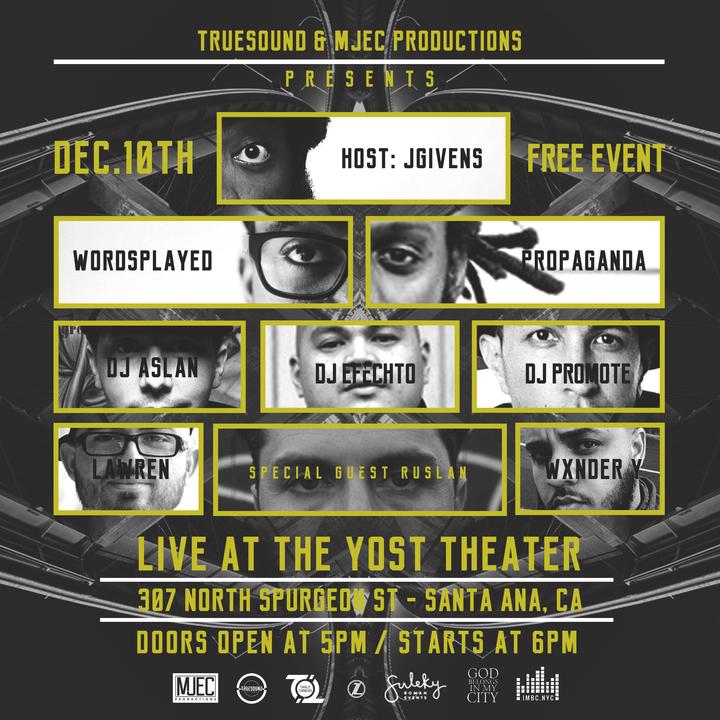 Lawren @ The Yost Theatre - Santa Ana, CA
