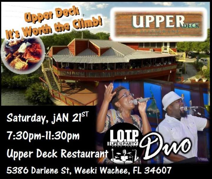LOTP Band Tampa, FL @ Upper Deck Restaurant - Spring Hill, FL