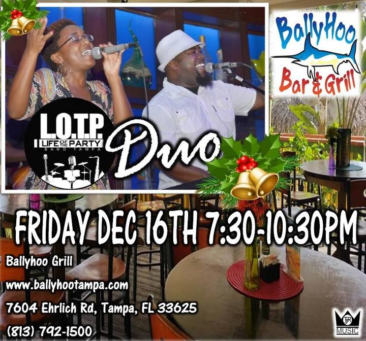 LOTP Band Tampa, FL @ BALLYHOO'S BAR & GRILL - Tampa, FL