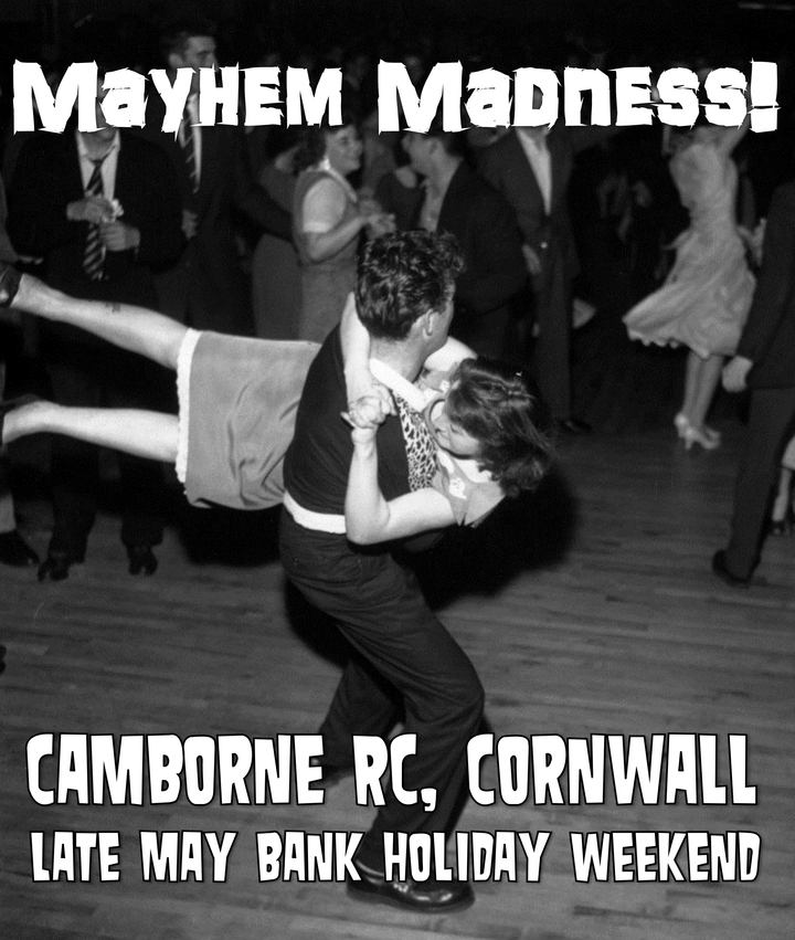 The Crawlin' Kingsnakes @ Camborne Rugby Club - Camborne, United Kingdom