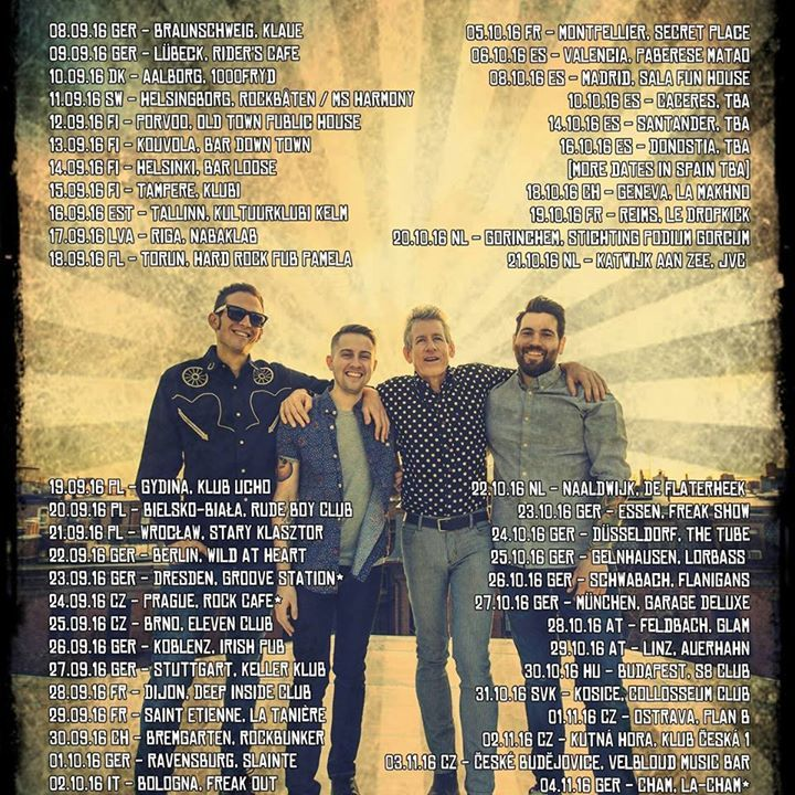 Continental Band Tour Dates