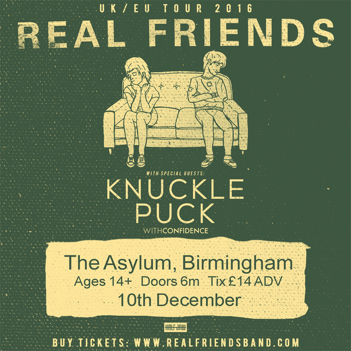 The Asylum Venue @ Real Friends - Birmingham, United Kingdom