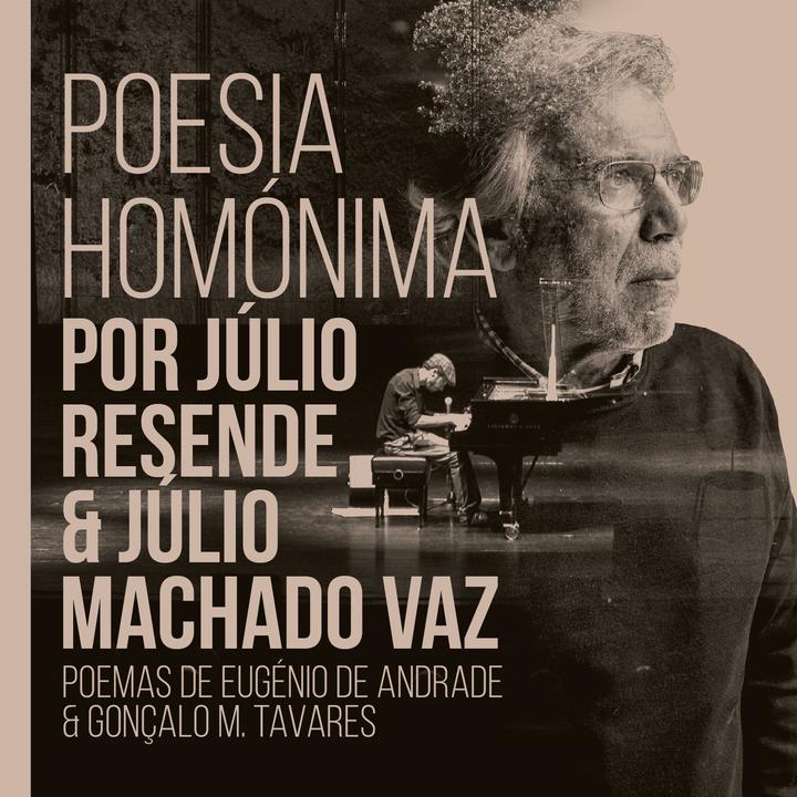 júlio resende @ Poesia Homónima - Teatro Garcia de Rezende - Evora, Portugal