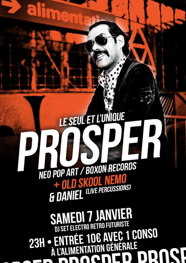 Prosper (Dj) @ L'Alimentation Générale - Paris, France