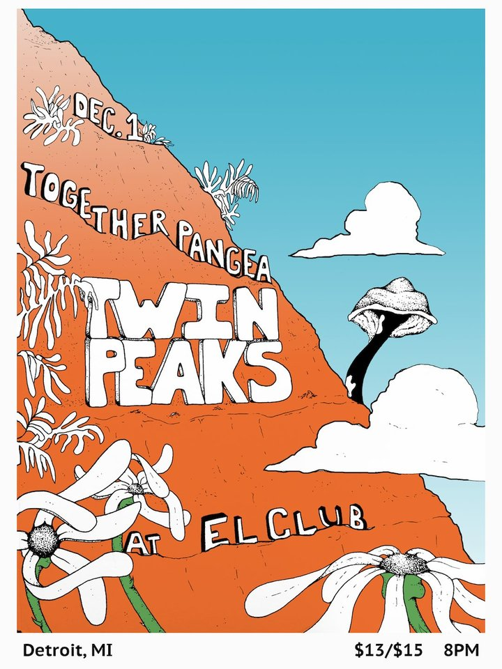 Twin Peaks @ El Club - Detroit, MI