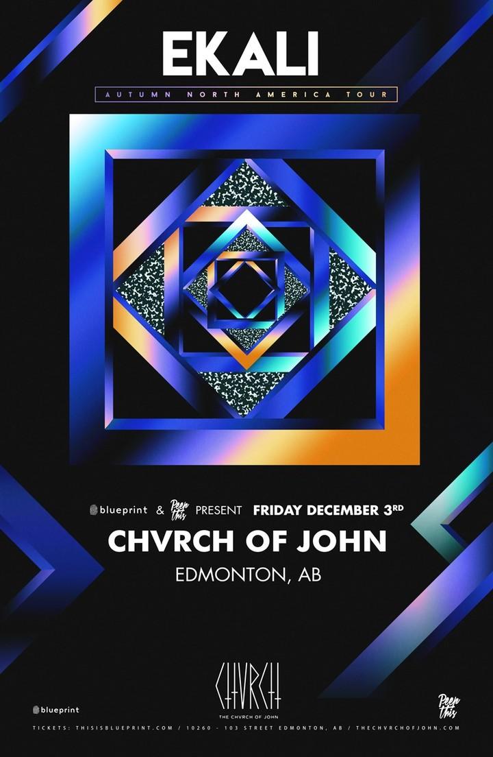 Ekali @ Chvrch of John - Edmonton, Canada