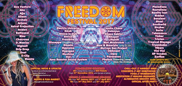 Goasia @ Freedom Festival - Lisbon, Portugal