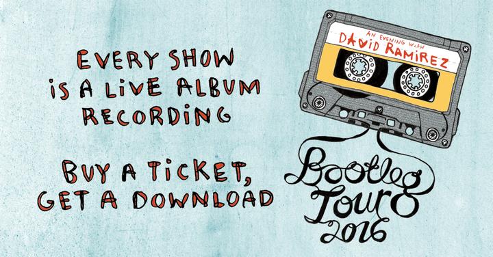 David Ramirez @ Zanzabar (Bootleg Tour) - Louisville, KY
