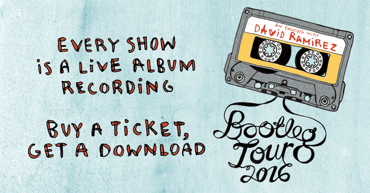 David Ramirez @ High Watt (Bootleg Tour) - Nashville, TN
