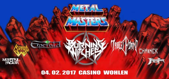 Rusted Guns @ Swiss Metal Masters - Wohlen, Switzerland