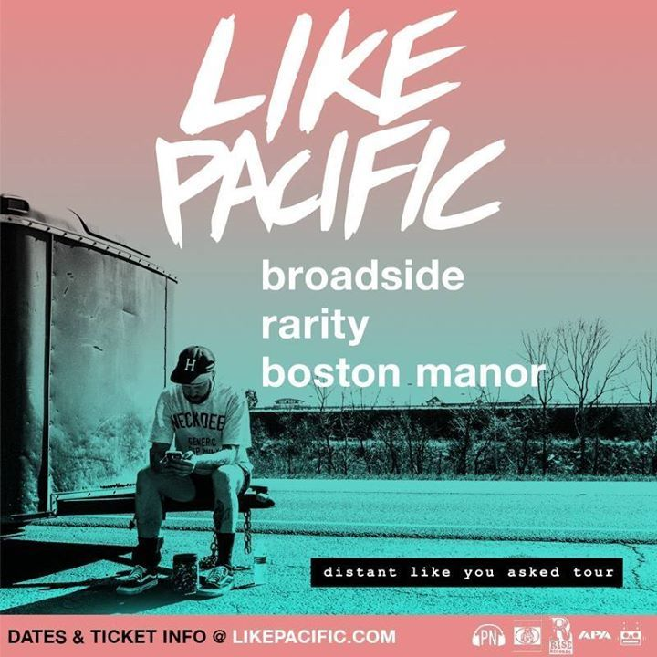 Like Pacific Tour Dates