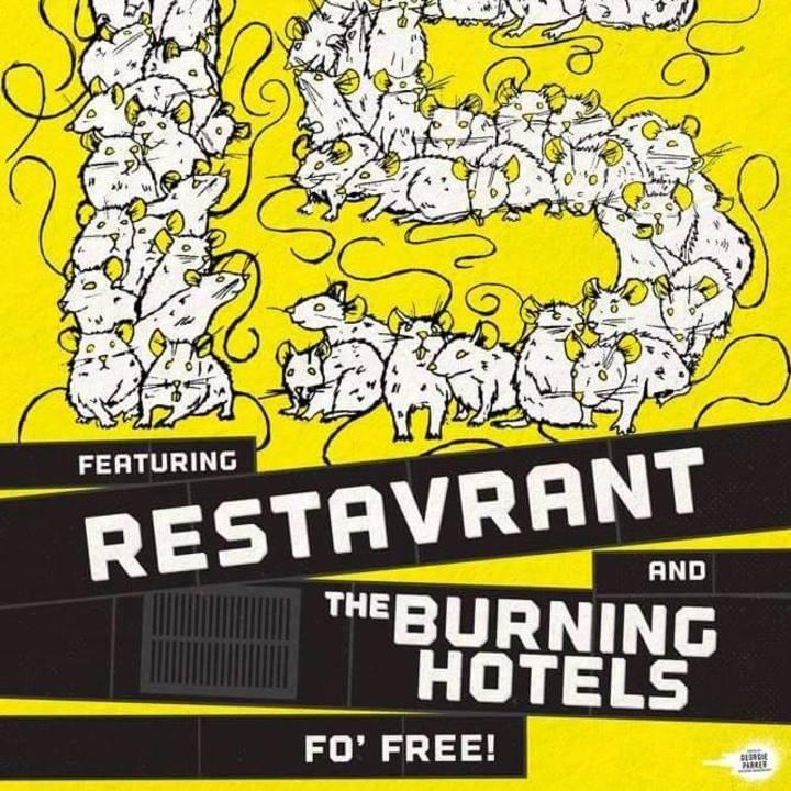 The Burning Hotels Tour Dates