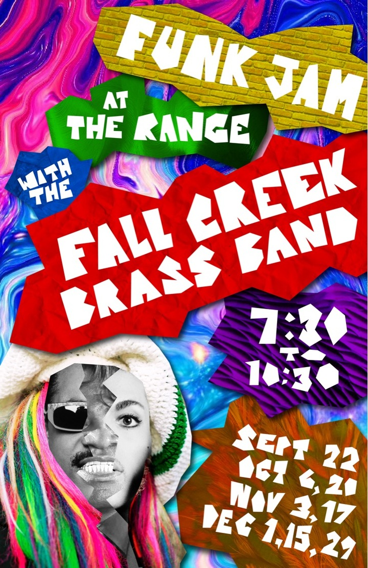 Fall Creek Brass Band @ Funk Jam @ The Range - Ithaca, NY