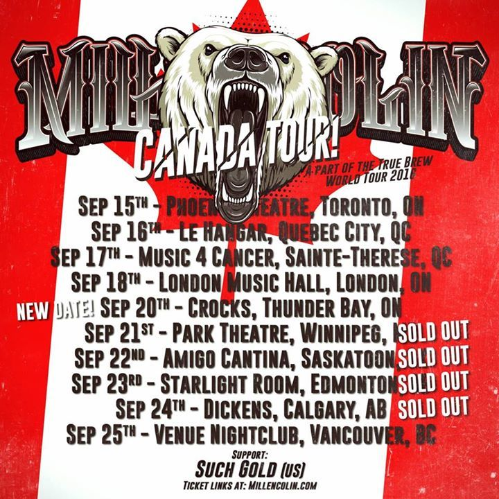 Millencolin Tour Dates