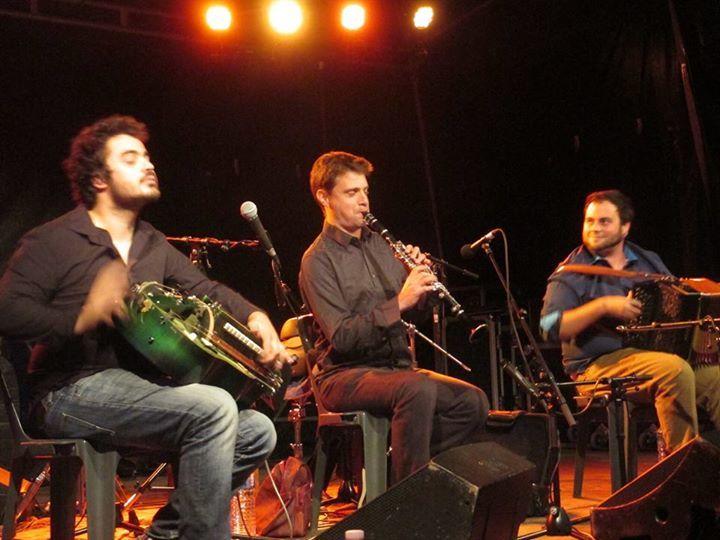 Trio Roblin/Evain/Badeau @ Apéro-concert 19h fin de résidence Espace st Jacques - Clisson, France