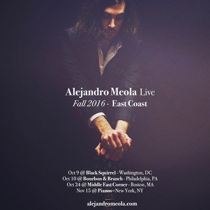 Alejandro Meola Tour Dates