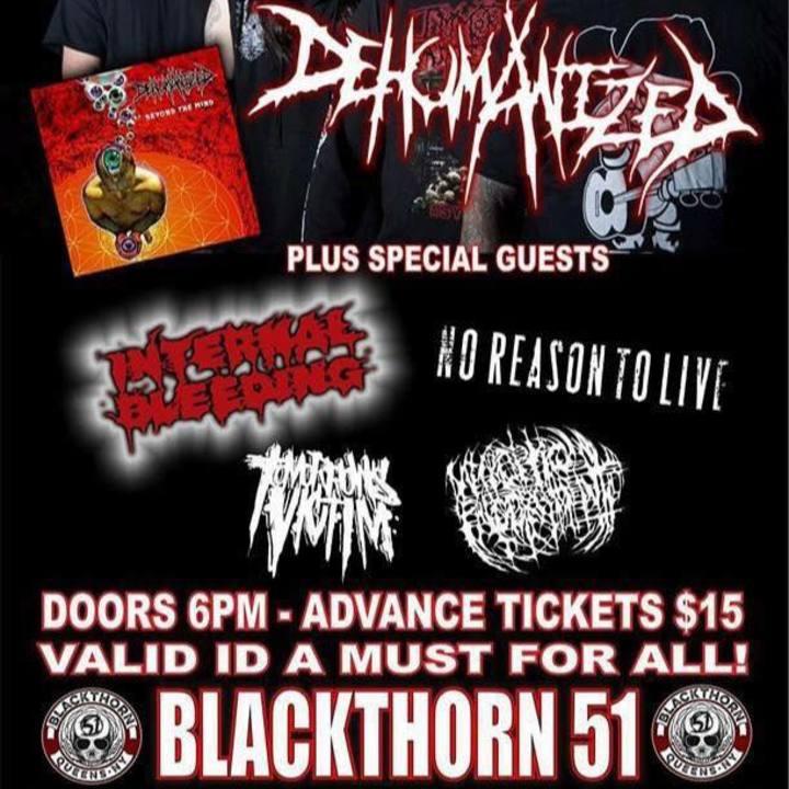 Necroptic Engorgement Tour Dates