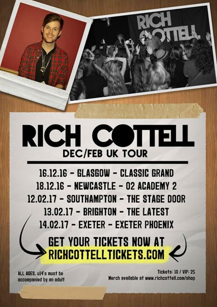 Rich Cottell Tour Dates