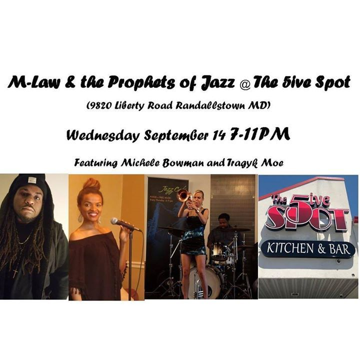 M-Law & the Modern Prophets of Jazz Tour Dates