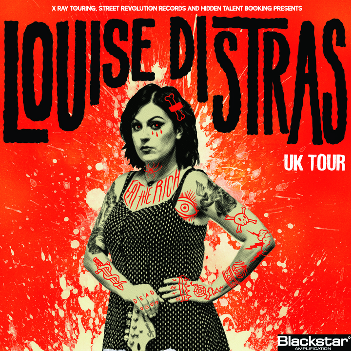 Louise Distras @ RockS  - Lustenau, Austria