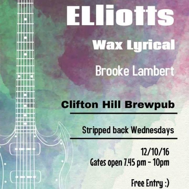 The Elliotts Tour Dates