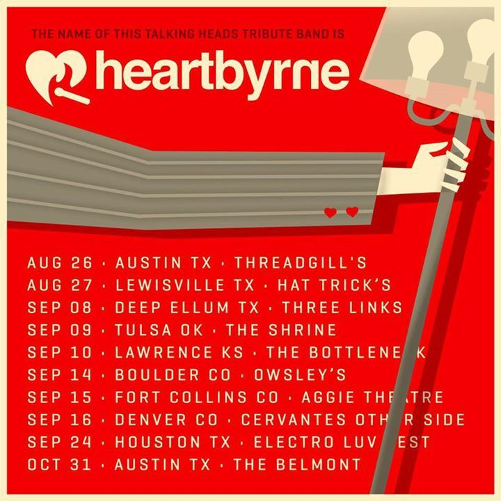 Heart Byrne Tour Dates