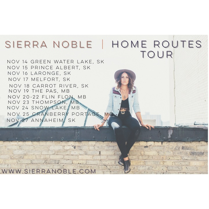 Sierra Noble @ Home Routes Tour - Annaheim, Canada