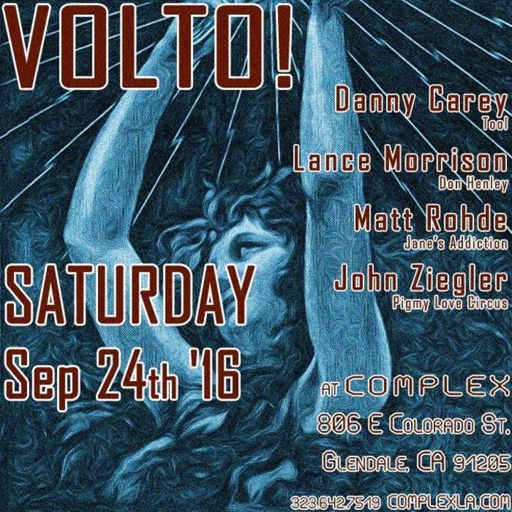 VOLTO! Tour Dates