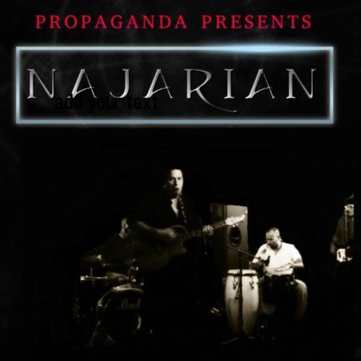 Najarian Tour Dates