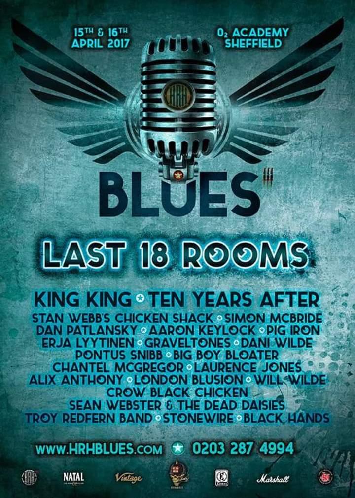 CrowBlackChicken @ HRH Blues - O2 Academy  - Sheffield, United Kingdom
