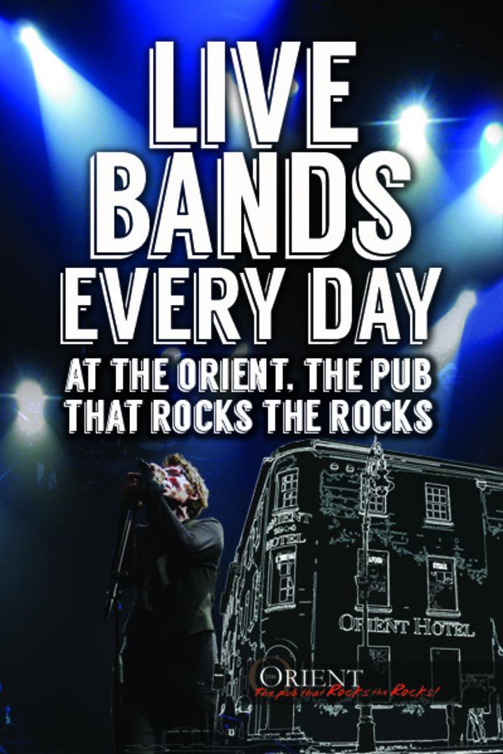 the Urban Legends @ The Orient Hotel - The Rocks, Australia