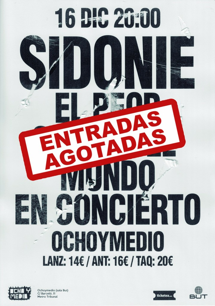Sidonie @ Ocho y Medio  - Madrid, Spain