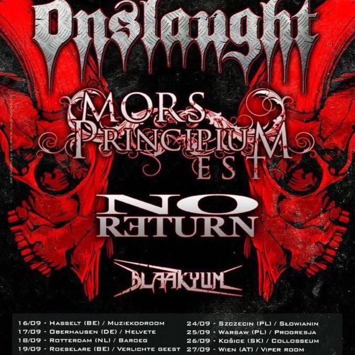 Blaakyum Tour Dates