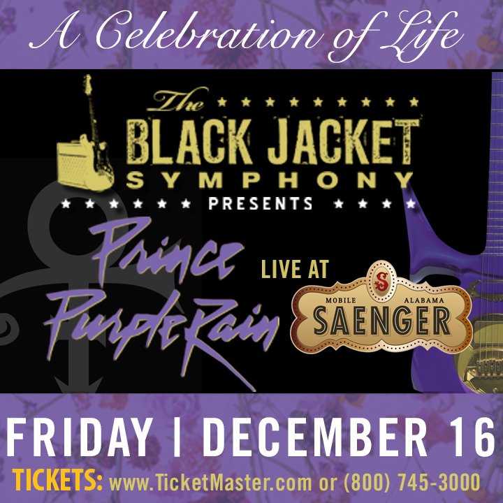 "The Black Jacket Symphony @ Saenger Theatre - Performing Prince's ""Purple Rain"" - Mobile, AL"