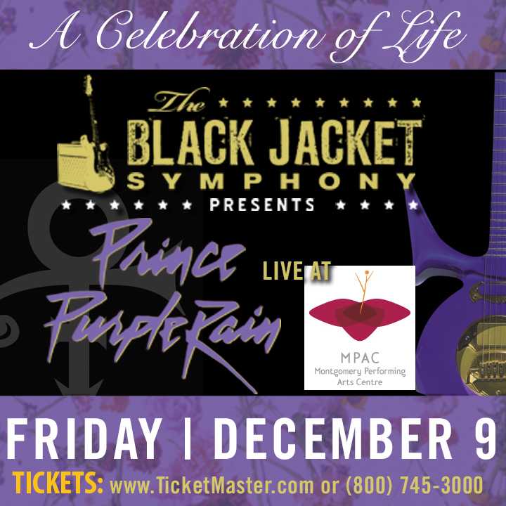 "The Black Jacket Symphony @ Montgomery Performing Arts Center - Performing Prince's ""Purple Rain"" - Montgomery, AL"