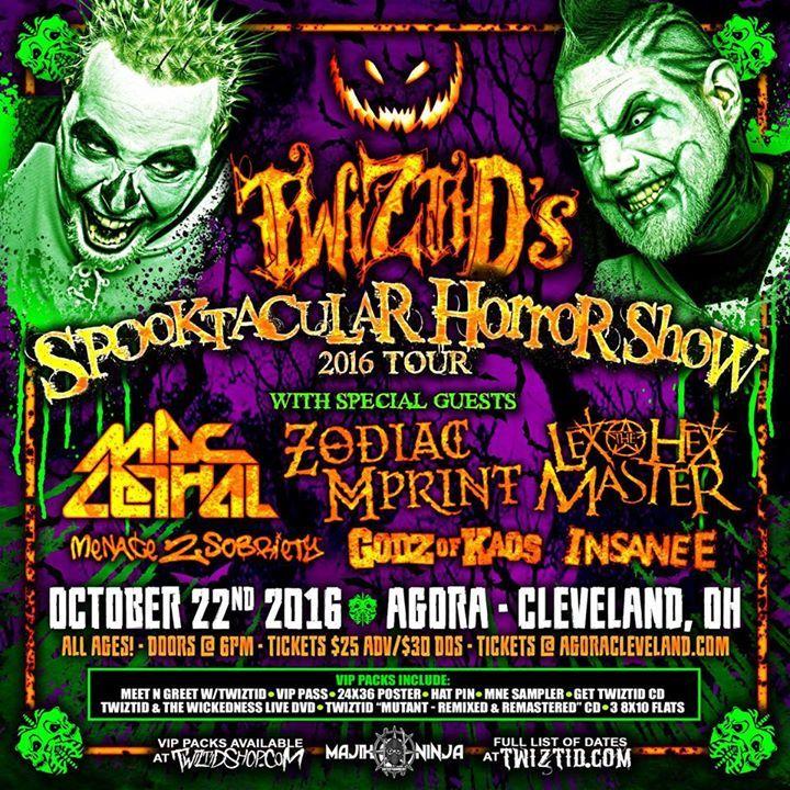 Insane E Tour Dates