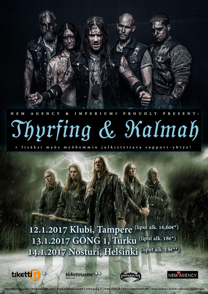 Thyrfing @ Klubi - Tampere, Finland