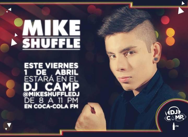 Mike Shuffle @ Coca Cola Fm  - Bogota, Colombia