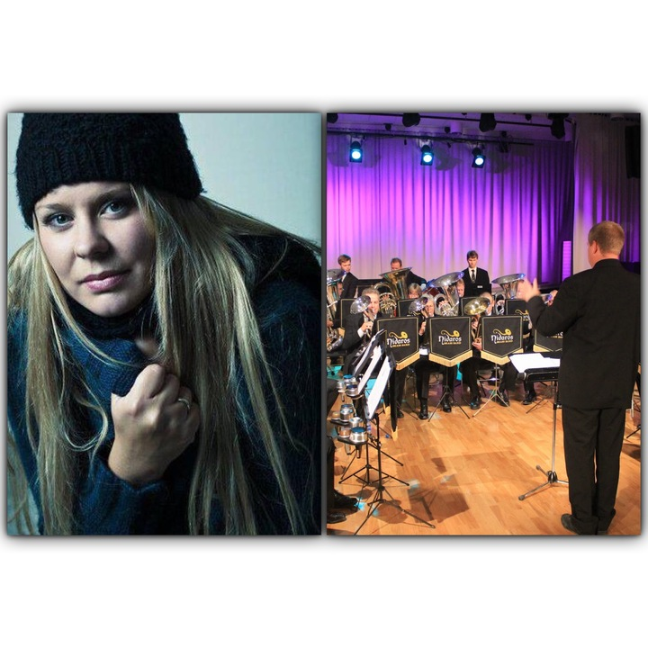 Stine Mari Langstrand @ Christmas Concert With Nidaros Brass Band - Trondheim, Norway