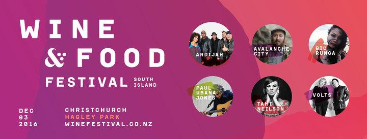 Paul Ubana Jones @ South Island Wine and Food Festival - Christchurch, New Zealand