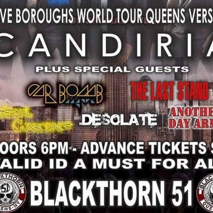 Desolate Tour Dates