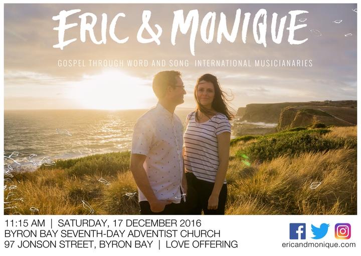 Eric & Monique @ Byron Bay Seventh-day Adventist Church - Byron Bay, Australia